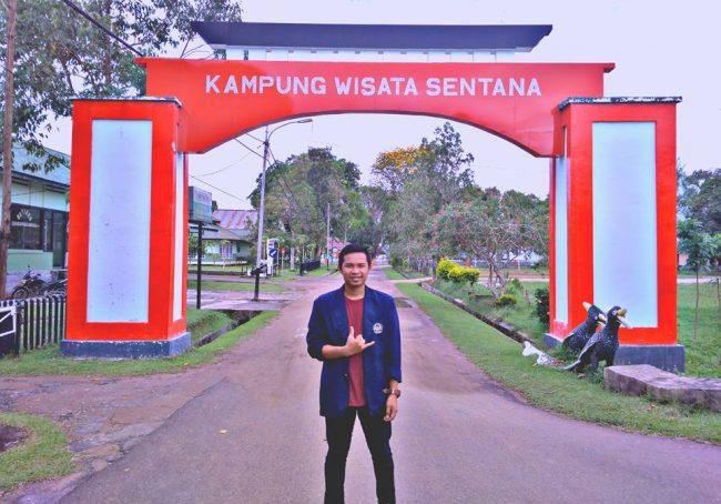 Kampung Santana via BUjangadaunet