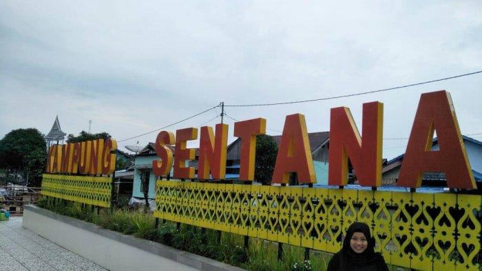 Kampung Wisata Sentana via Tribun Pontianak