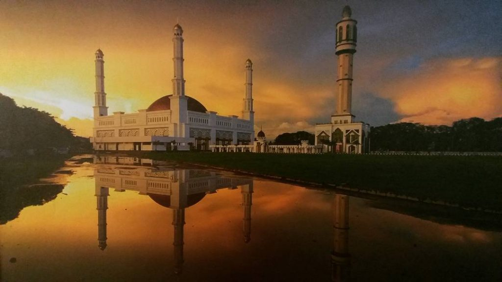 Masjid Raya Mujahidin via Ig @yulipinto10
