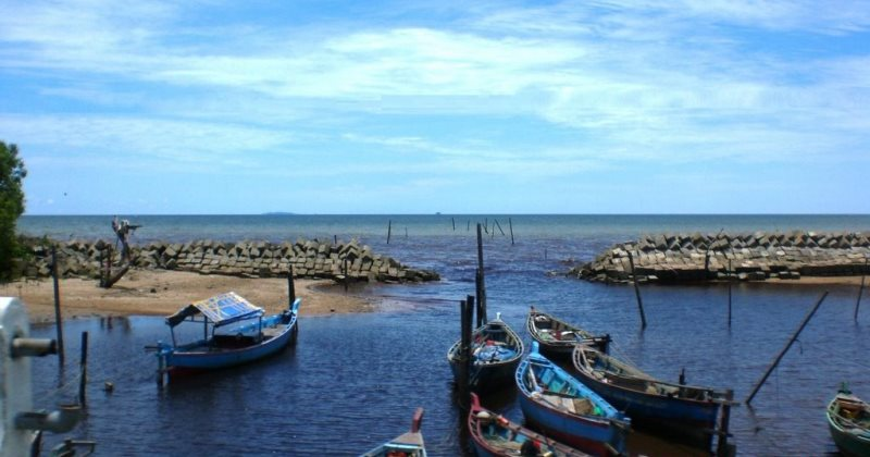 Pantai Ancol Penibung via Mapionet