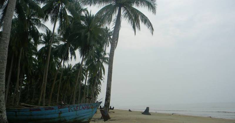Pantai Dungun Laut via FB