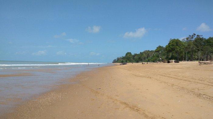Pantai Kampak Indah via Tribunnews