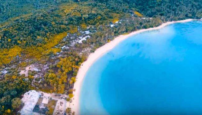 Pantai Paku Pulau Temajo