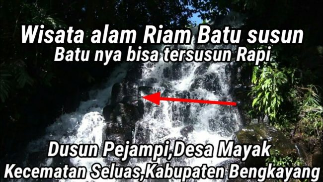 Riam Batu Susun via Youtube