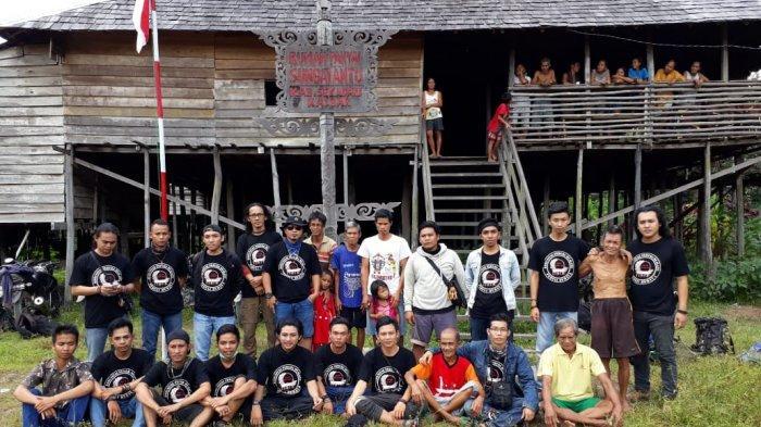 Rumah Panjang Sungai Antu via Tribun Pontianak