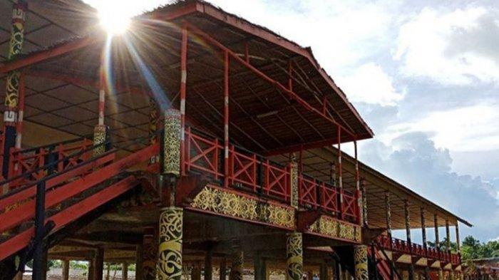 Rumah Panjang via Tribunnews