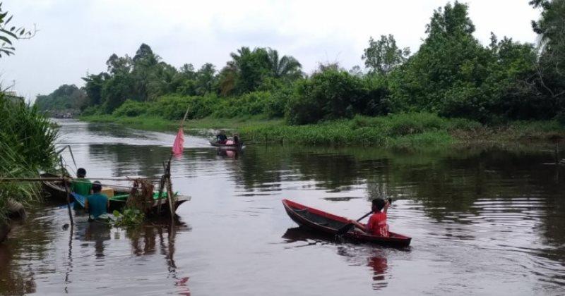 Sungai Kapuas Rasau Jaya via Antaranews