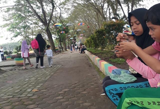 Taman Hutan Kota Kisaran via Lintangnews