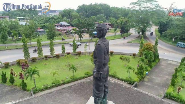 Tugu Ali Anyang via Tribunpontianak - Tempat Wisata Di Kubu Raya