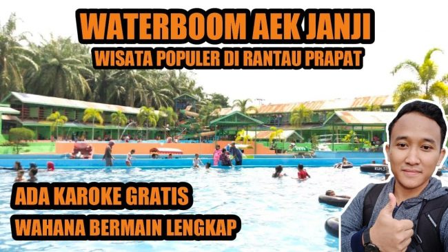 Waterboom Aek Janji via Youtube