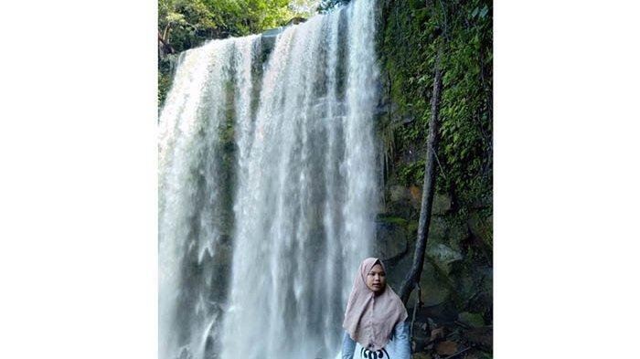 Wisata Air Terjun Setagung via Tribunnews