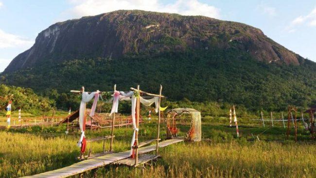 Wisata Sawah Adau Kelam via IG @sawahadau