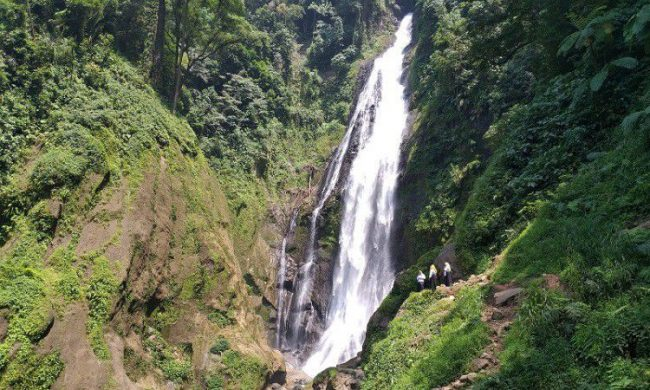 Air Terjun Silima – lima via Okezone