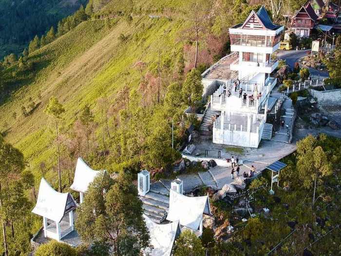Menara Pandang Tele via Pariwisata Sumut