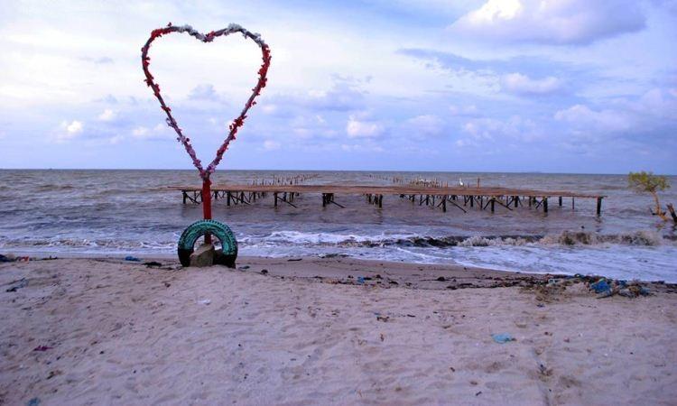 Pantai Galuh Indah via FB Pantaigip