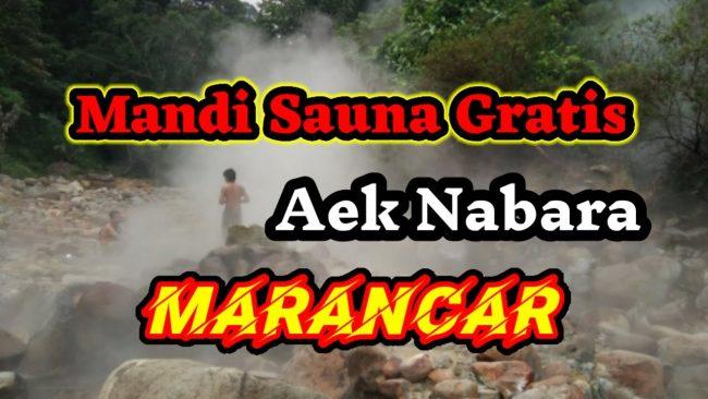 Pemandian Air Panas Aek Nabara via Youtube - Tempat Wisata di Tapanuli Selatan