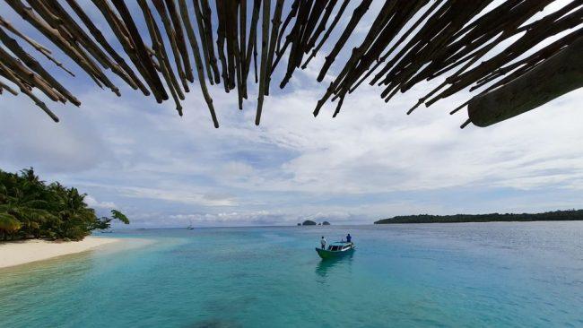 Ilustrasi Pulau Pittoijat via Fb