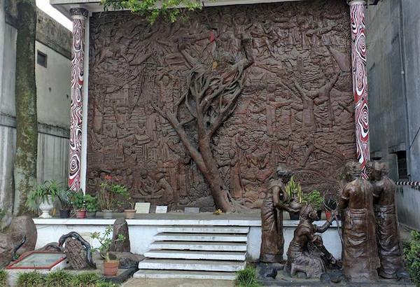 Monumen Raja Sonakmalela via IG @Batakgaul