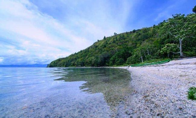 Pantai Meat - tempat wisata di Toba Samosir