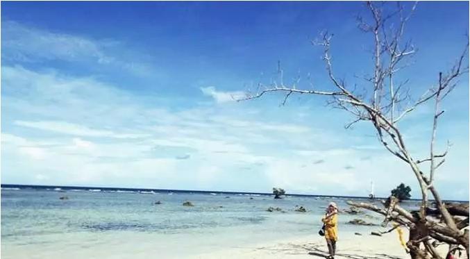 Pantai Sioban via Ig @wulansuminarlunar
