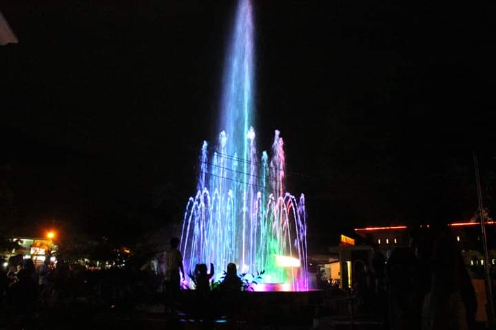 Pusat Kota Lubuk Sikaping via Prokabar