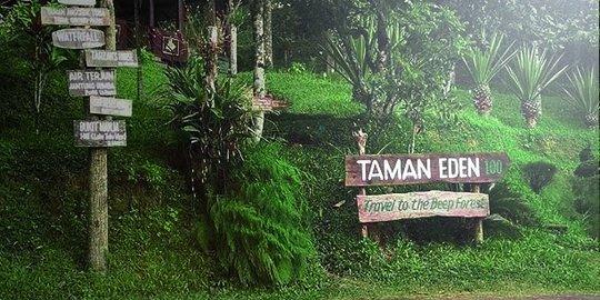 Taman Eden 100 via Merdeka