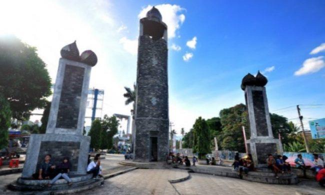 Tugu Salak via IG @explorebangsel - Tempat wisata di padang sidempuan