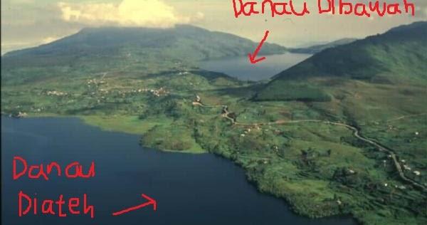 Danau Diateh Danau Dibawah via Padangsumaterablogspot