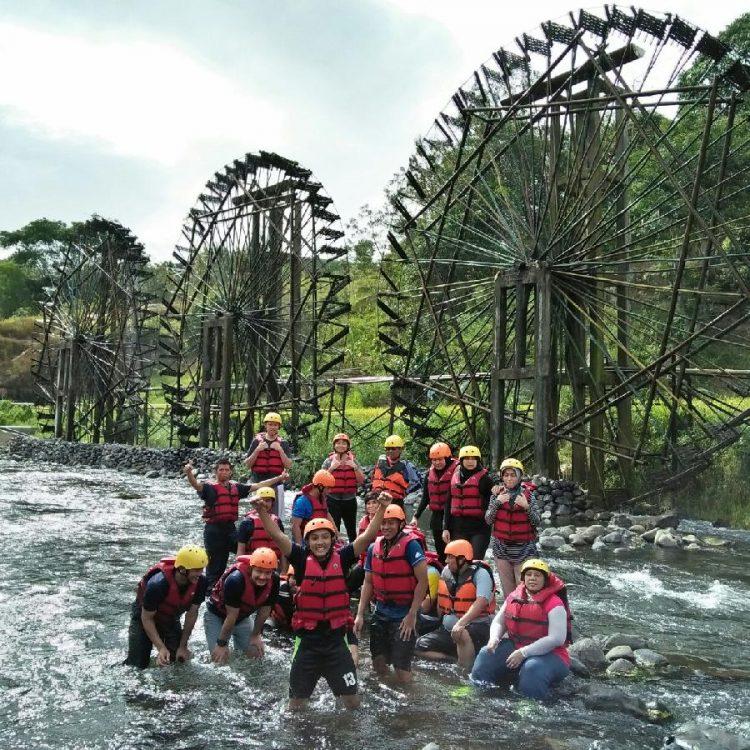 Kincir Air Talawi - tempat wisata di Tanah Datar