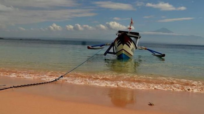 Pantai Pink via Tribunnews