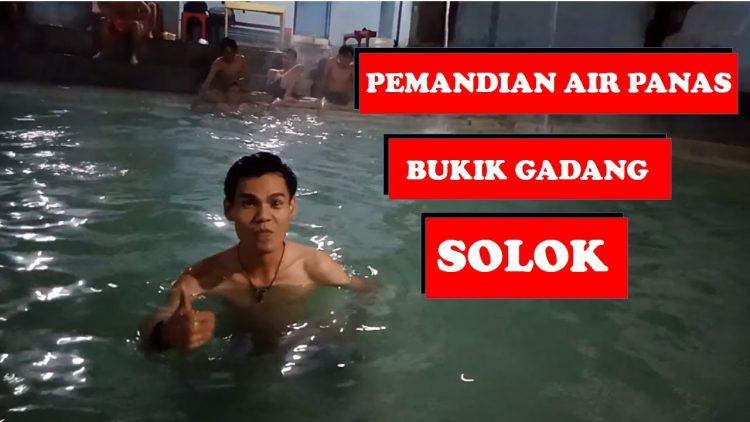 Pemandian Air Panas Bukik Gadang via Youtube