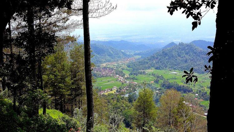 Puncak Pato - tempat wisata di Tanah Datar