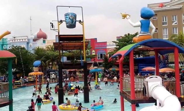 Aladin Depok Fantasi Waterpark via Youtube
