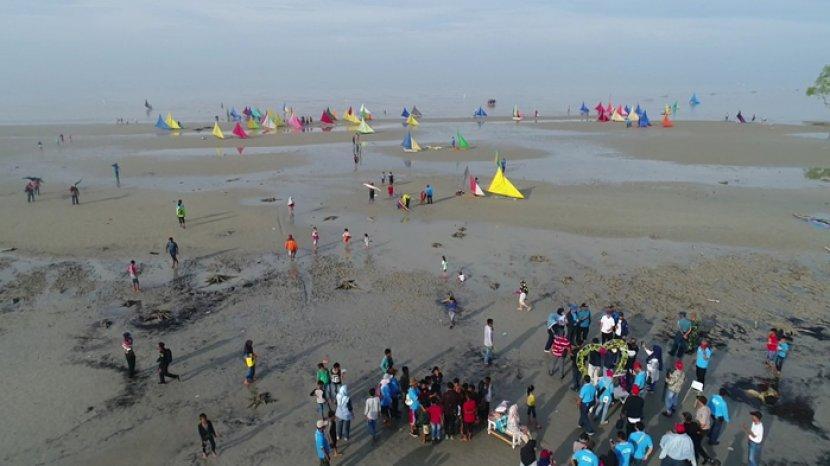 Pantai Beting Beras via Tribunnews