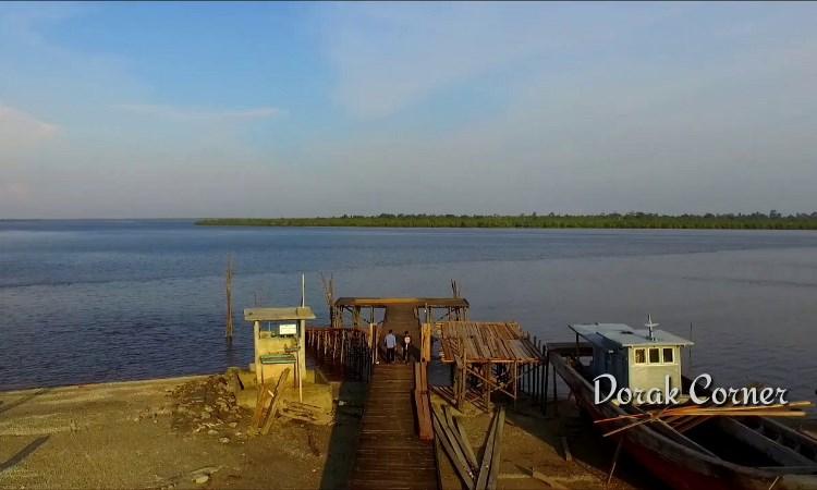 Pantai Dorak via Youtube Erwin Saputra - Tempat Wisata Di Kepulauan Meranti
