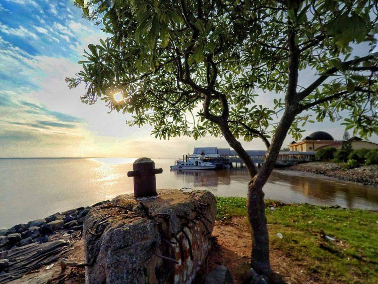 Pelabuhan Bandar Sri Laksamana Bengkalis via IG @senosutrisno