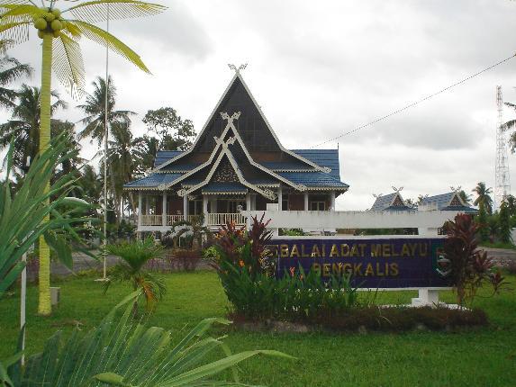 Rumah Adat Melayu Bengkalis via Lancangkuning