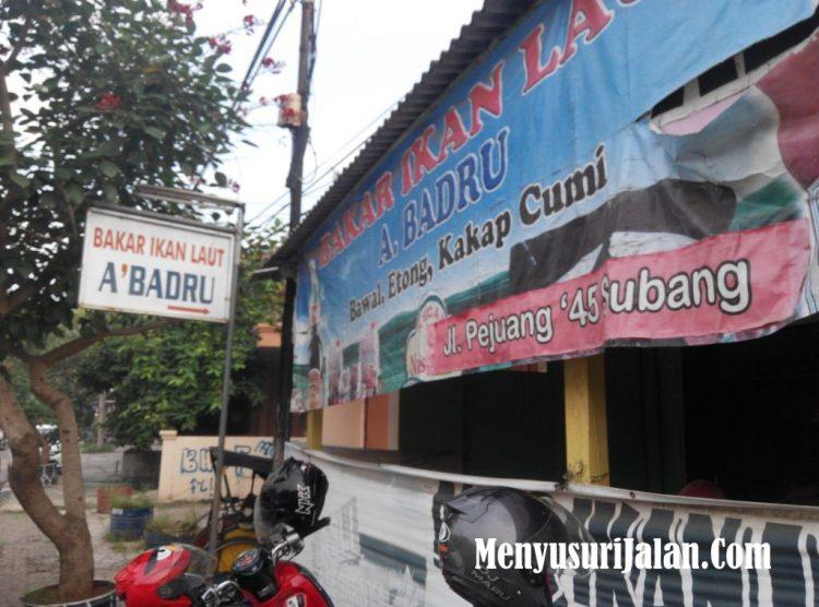 Bakar Ikan Laut A' Badru via Menyusirjalan
