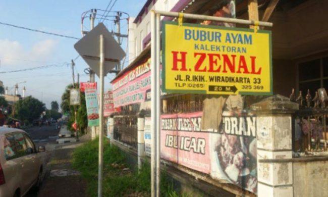 Bubur Haji Zaenal via Koropak