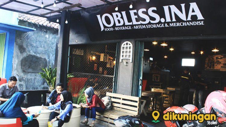 Cafe Jobless.Ina via Dikuningan