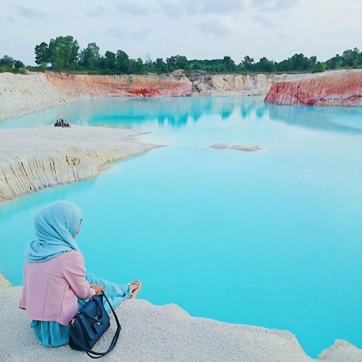 Danau Biru FOto by lhala dhila