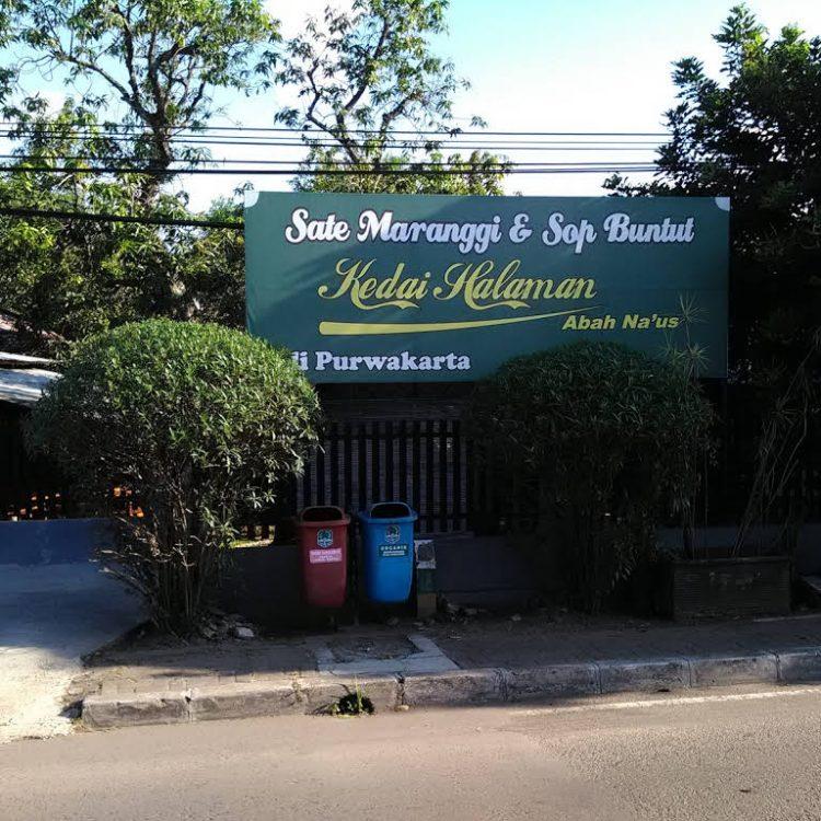 Kedai Halaman Abah Na'us