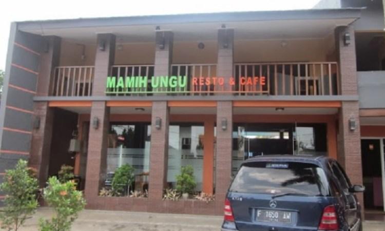Mamih Ungu Cafe & Resto via Theweddingsukabumi