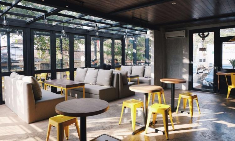Praline Coffee Shop & Patisserie via Archify