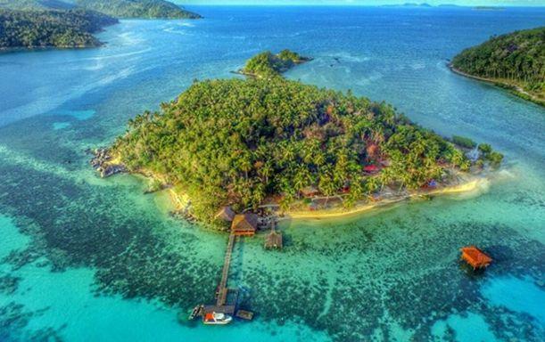 Pulau Piugus - tempat wisata di Kepulauan Anambas