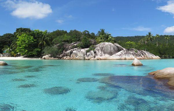 Pulau Telaga - tempat wisata di Kepulauan Anambas