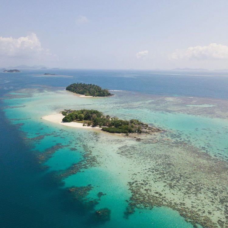 Pulau Temawan via IG @farinjupe