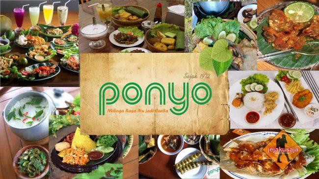 Rumah Makan Ponyo di Sumedang