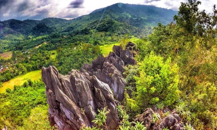 Wisata Bukit Tembulun via IG @pesonajambi