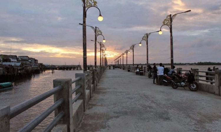 Jembatan WFC Kuala Tungkal via Jambi-Independent - Tempat Wisata Di Tanjung Jabung Barat